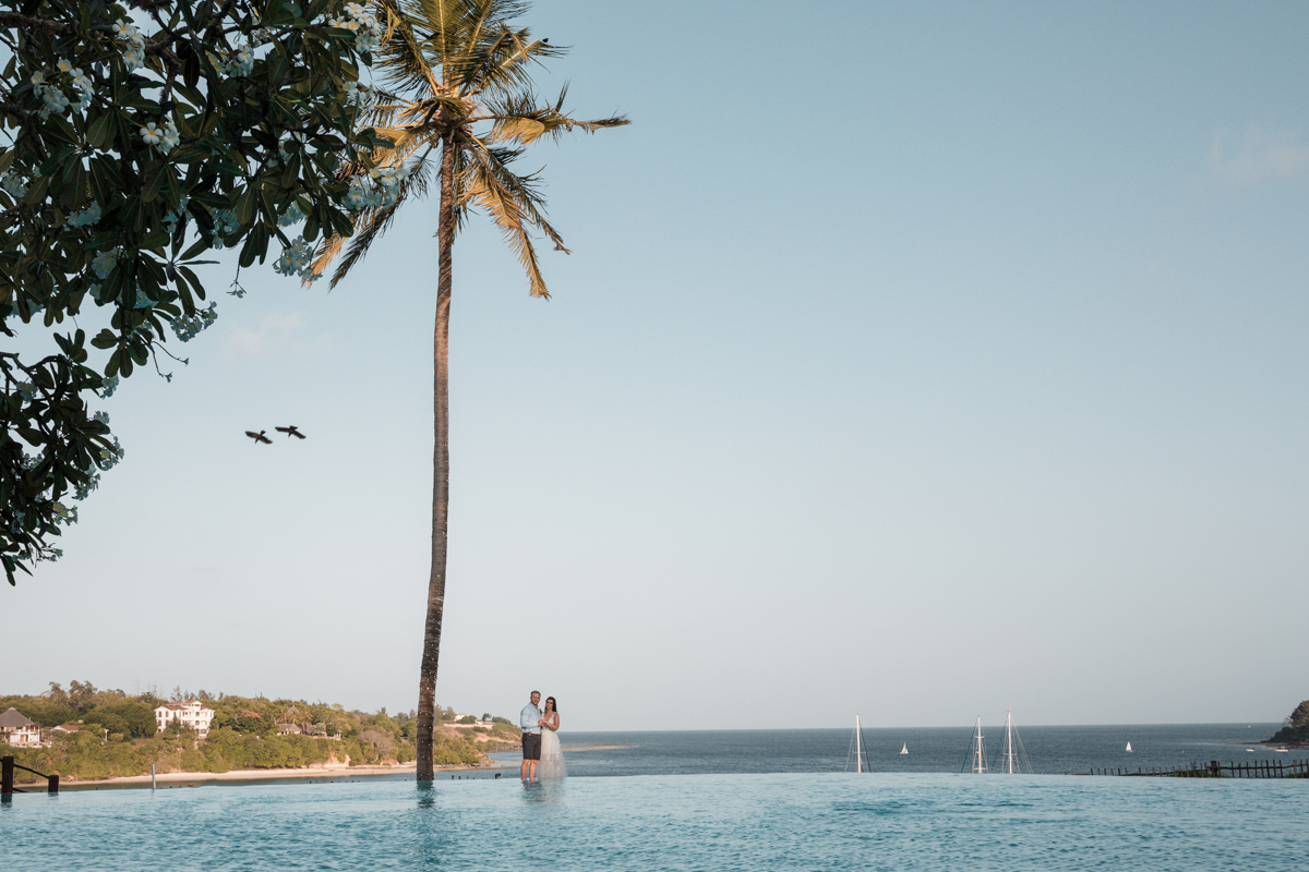 Nicola & Lloyd Destination Wedding :: Mnarani Beach Club Kilifi