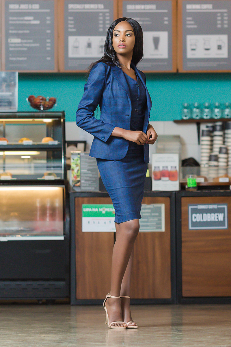Lugo Collection Suits Eleanor Musangi by Antony Trivet Fashion Photography