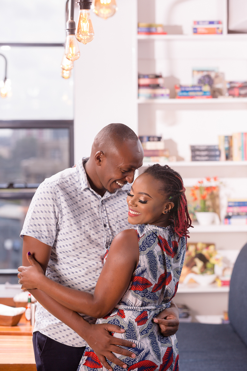 Bao Box Cafe Westlands :: Lovely Intimate Engagement Photoshoot