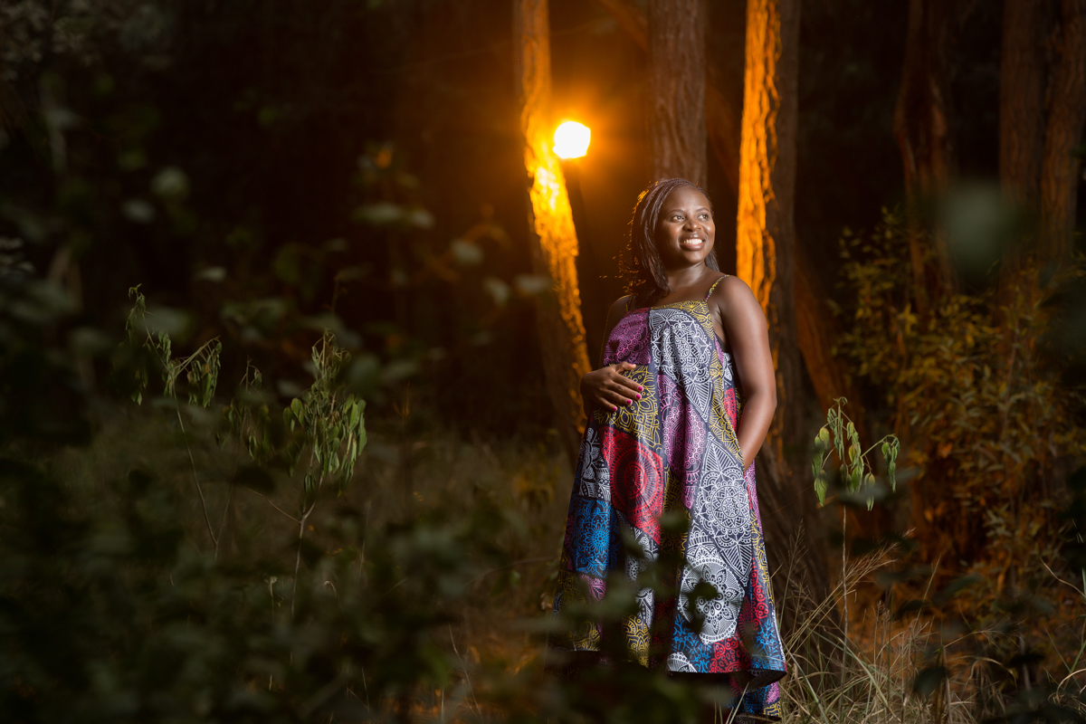 Kenyan Baby Bump Photographers :: Karura Forest Pregnancy Photoshoot