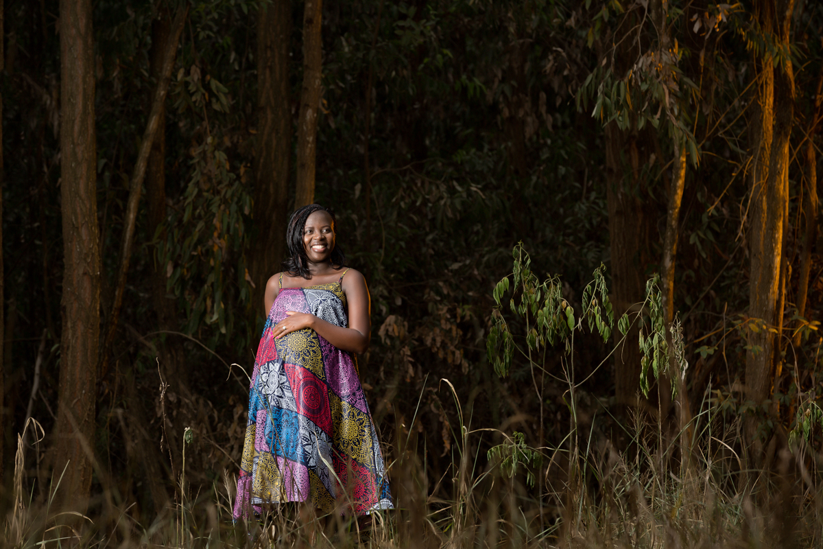 Karura Forest Pregnancy Photoshoot