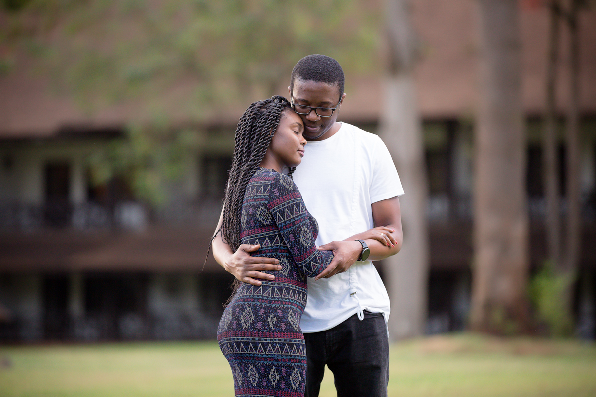Safari Park Hotel Casino :: Kenyan Zimbabwean Engagement Session