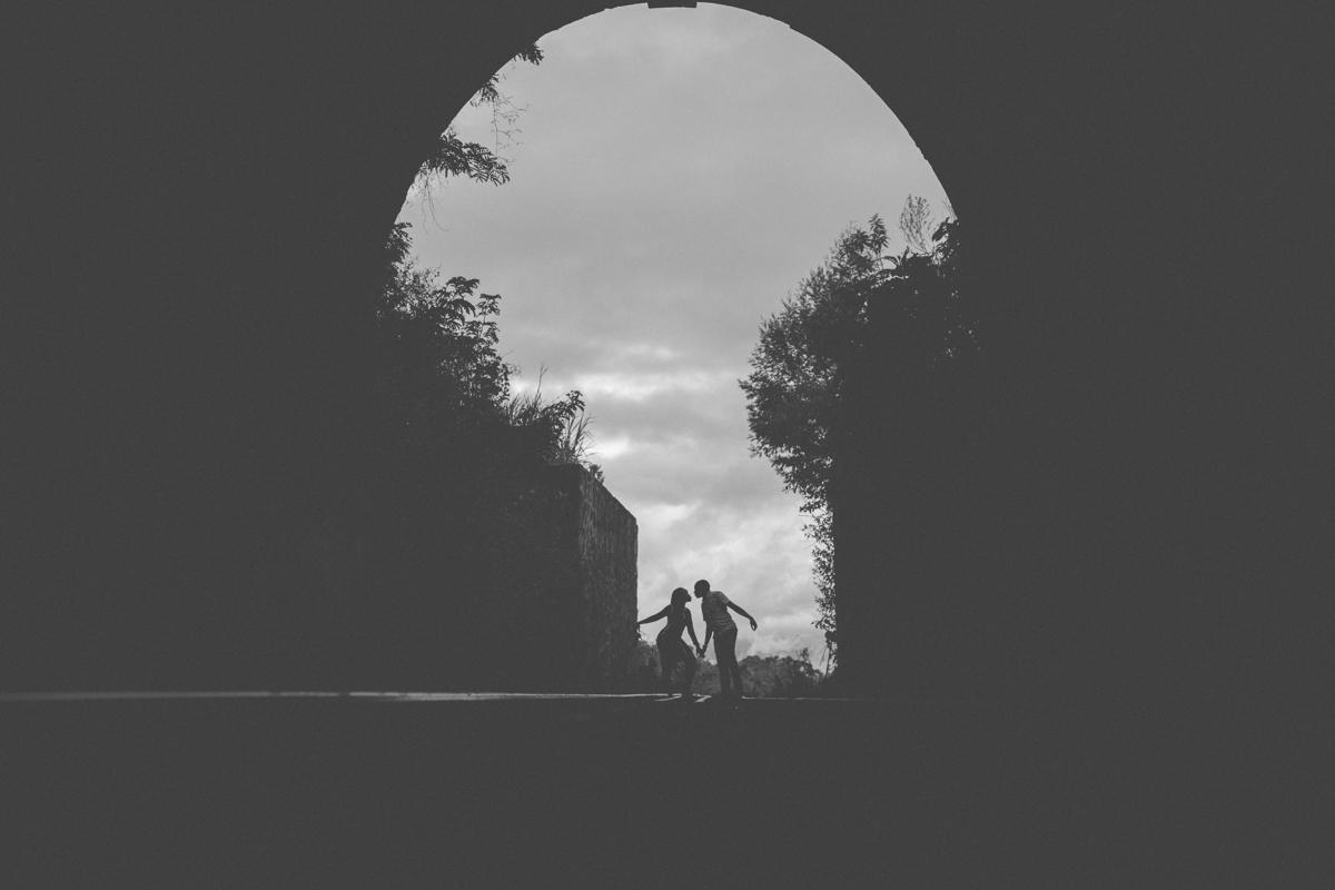 Lilian & Ericson :: Buxton Train Tunnel Engagement