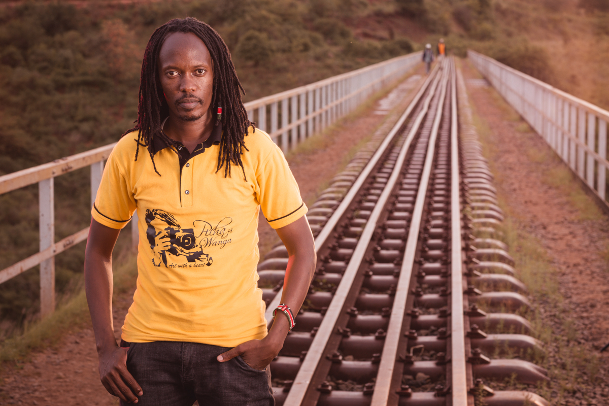 Kenya Murang'a_Maragua Lunatic Railway Bridge Portraits _Kenya Fashion Photographers