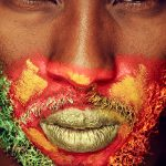 Joy Maringa By Perky Arts :: Kenyan Lip Artist Portraiture
