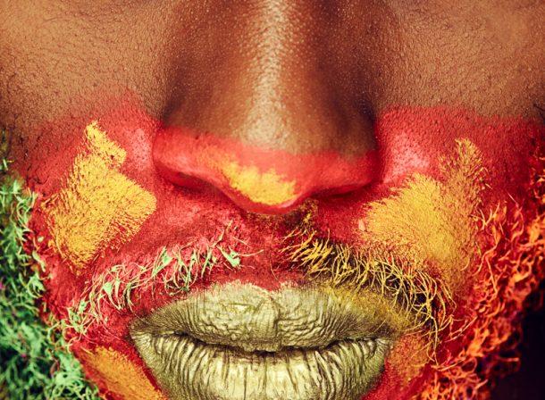 Joy Maringa By Perky Arts :: Kenyan Lip Artist Portraiture