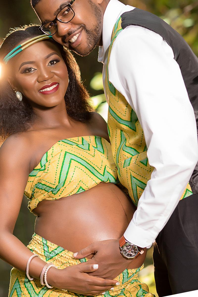 Kenyan Pregnancy Maternity Baby Bump Photography
