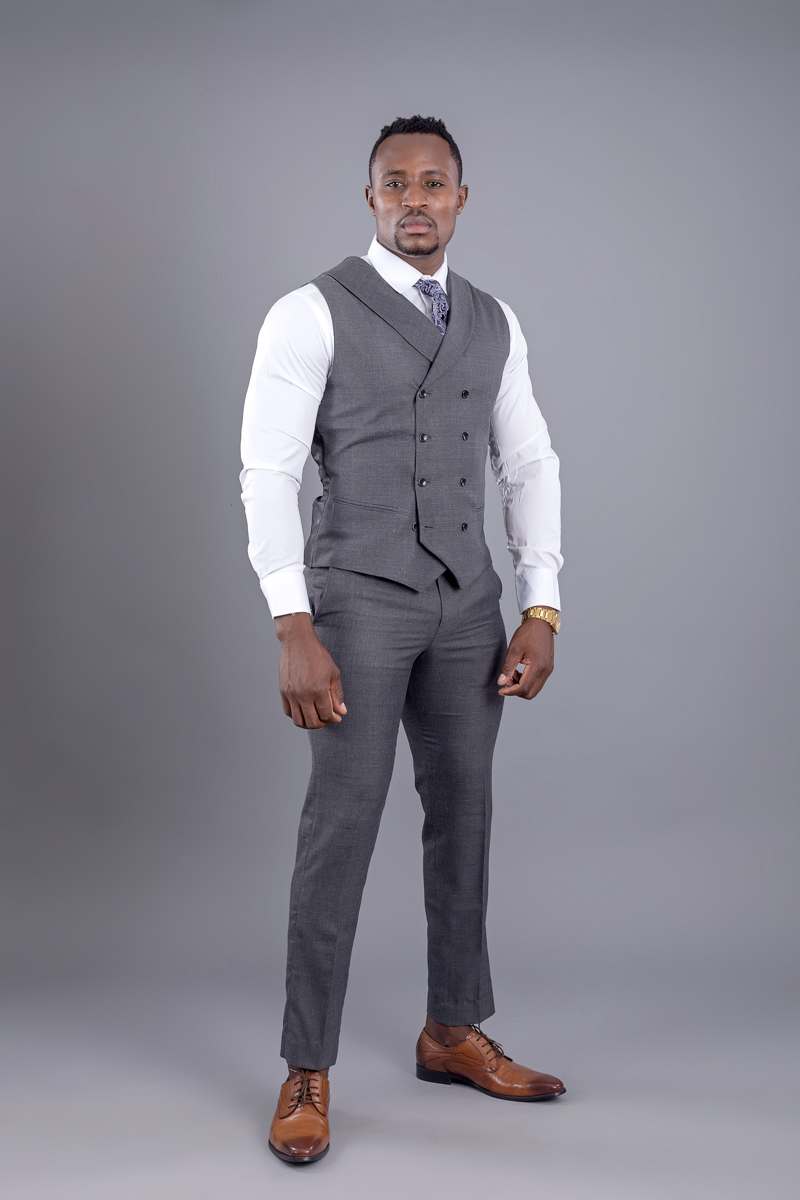 Kenya designer groom men suits