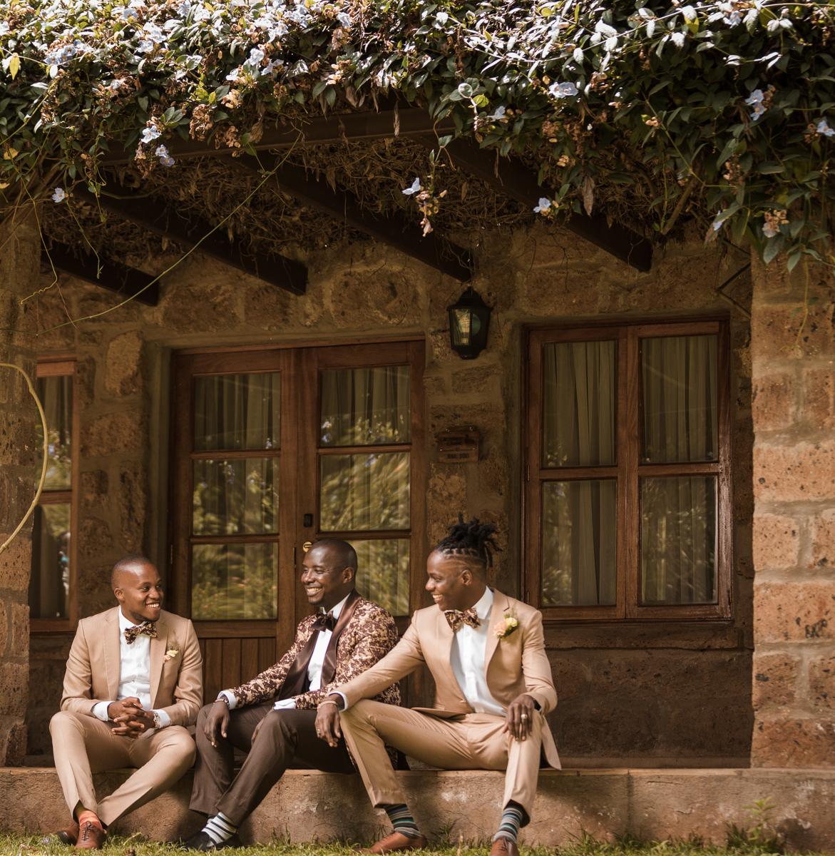 Emily weds Alvin photo shoot at The Residences At Karen Country Club Karen Rd Nairobi Kenya