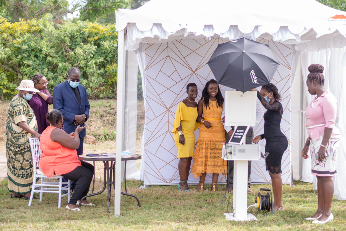 Nairobi Photo booth Company at Karen Country Club