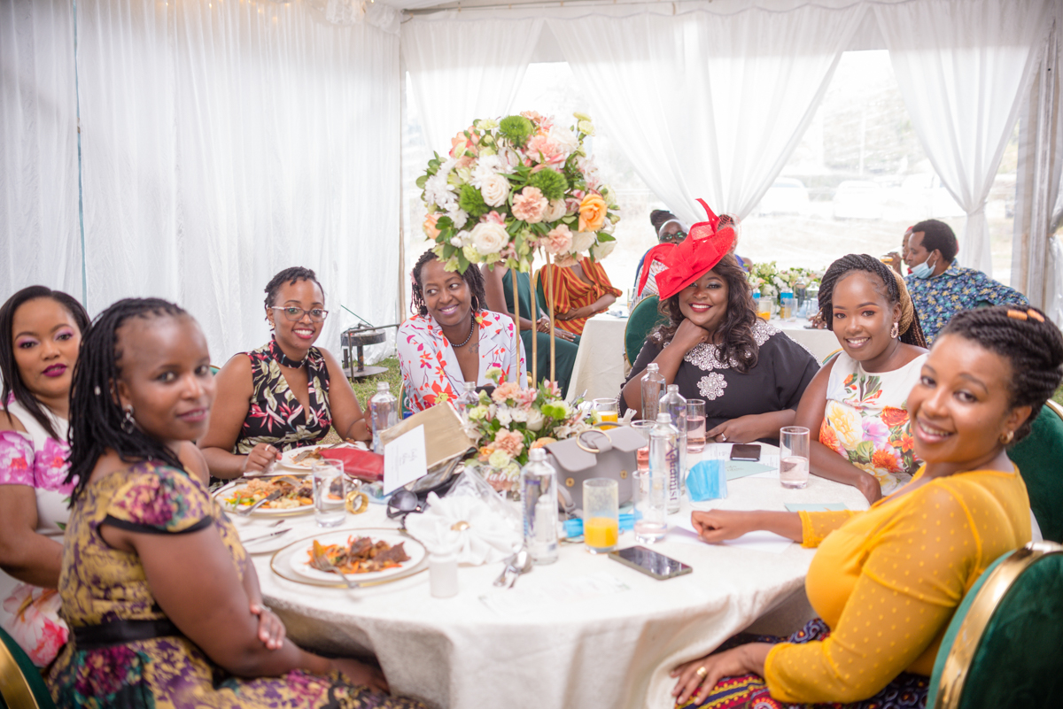 Emily weds Alvin reception at Karen Country Club Wedding Grounds