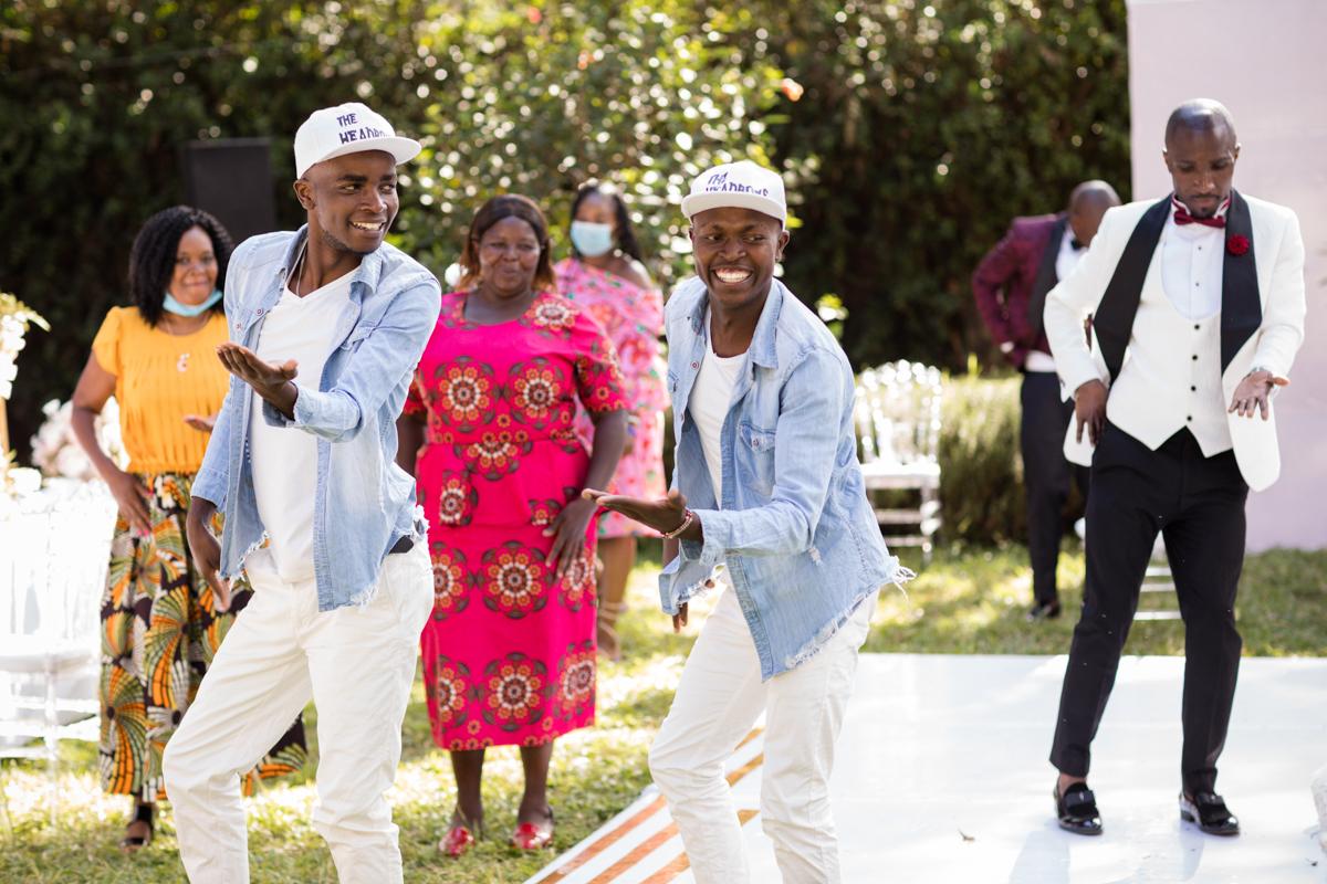 The Headboy dance crew At Bethsaida Park Kikuyu Nderi Road