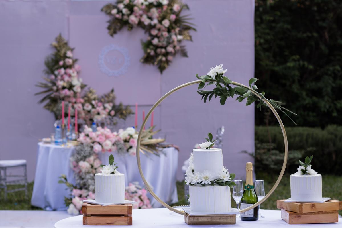 Wedding Cake By Muthonis_Kitchen At Bethsaida Park Kikuyu Nderi Road
