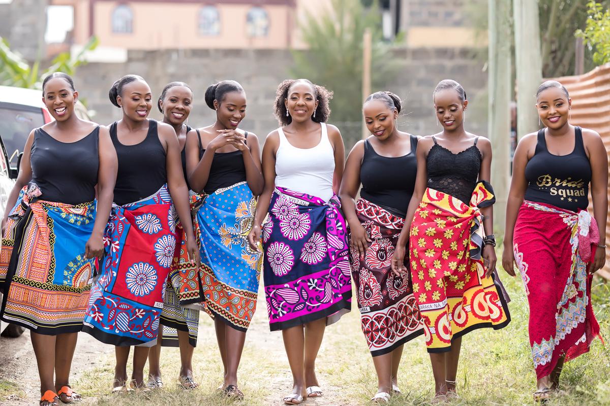 Kenyan Brides & Bridesmaids Photoshoot By Antony Trivet